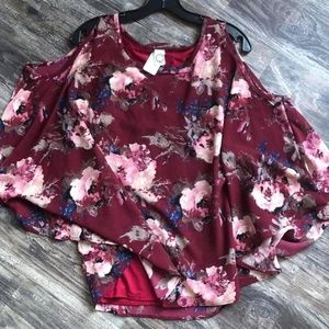 """""""All The Sweetness"""" Floral Shirt"""